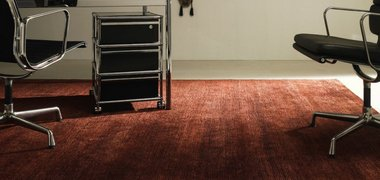 Domaniecki cut and loop naturitas color silk nessel bambus teppich carpets