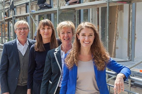 Gilbert Interiors Team Baubeginn - Neumarkt Opf.