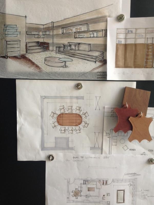 die pinnwand ist fertig gilbertinteriors. Black Bedroom Furniture Sets. Home Design Ideas